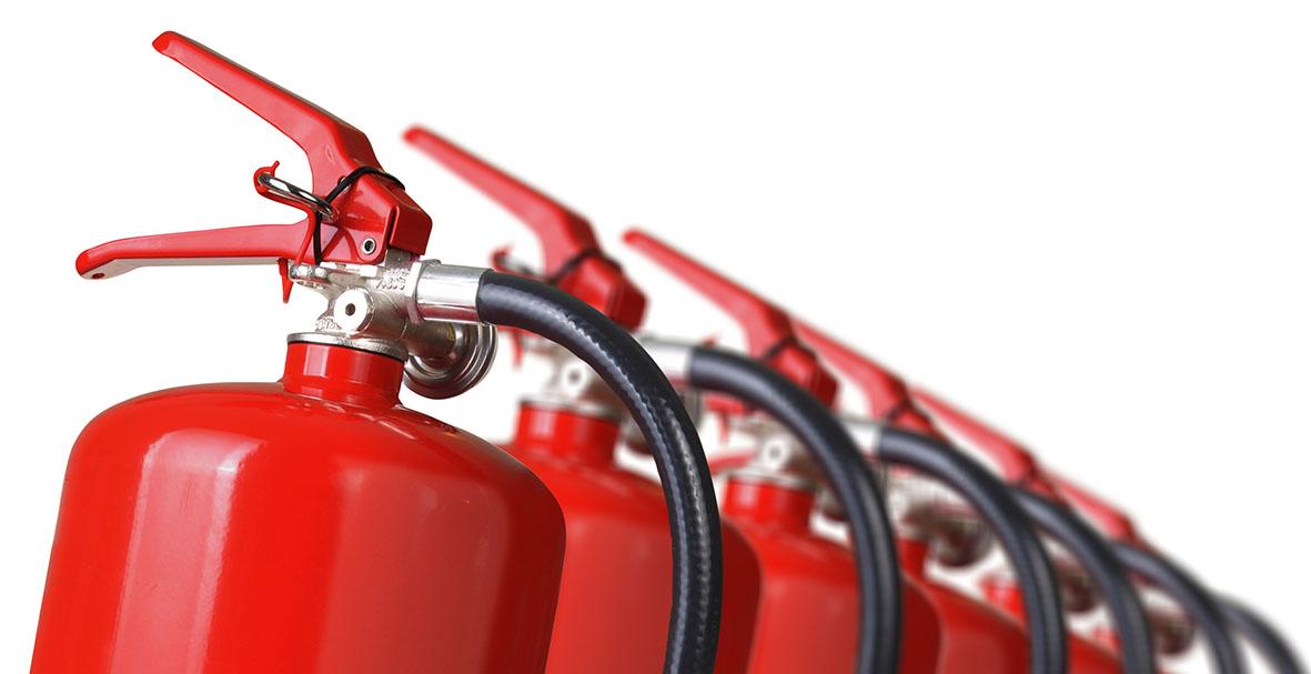 Extintor Incêndio Laboratório Teste Ensaio